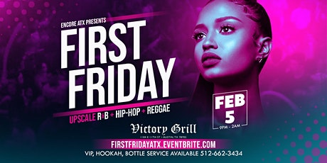 First Fridays: R&B, Hip-Hop, Reggae tickets