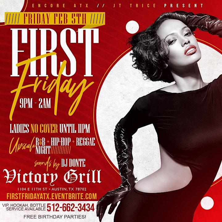 First Fridays: R&B, Hip-Hop, Reggae image