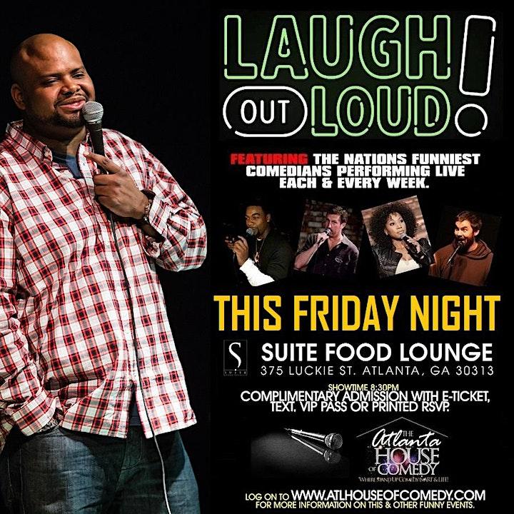 Laugh Out Loud Friday @ Suite Lounge image