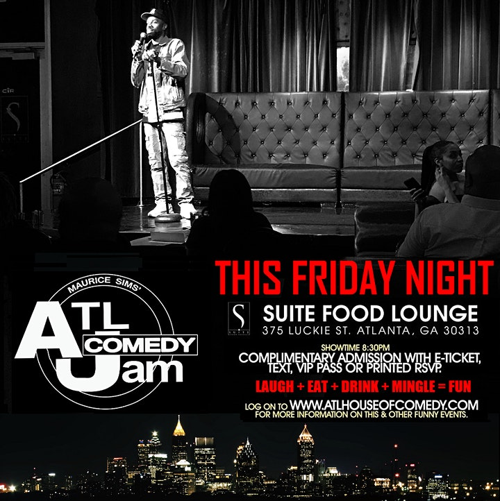 Funny Friday Comedy @ Suite Lounge image