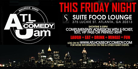 Funny Friday Comedy @ Suite Lounge tickets