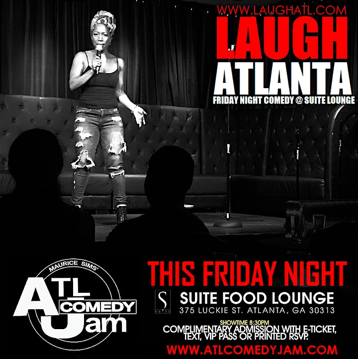 Friday Nite Comedy at Suite Lounge image