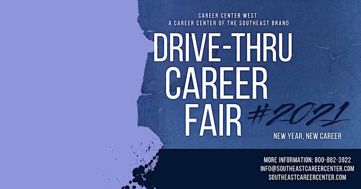Free Drive- Thru Career Fair! MUSIC,  GIVEAWAYS, RESOURCES image