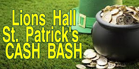 St Patricks Cash Bash tickets