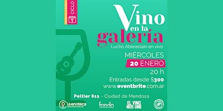 Ciclo VINO EN LA GALERÍA (20-01) entradas