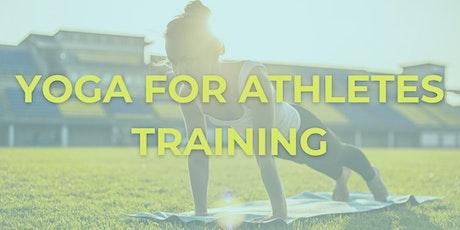Yoga For Athletes Training tickets