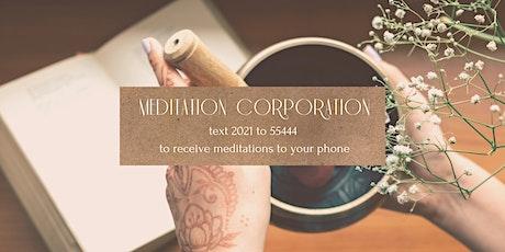 21 days of Meditation tickets