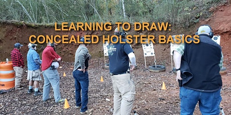 April 2021 Learning to Draw: Concealed Holster Basics tickets