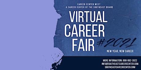 Free Virtual Career Fair.  Phoenix, Arizona tickets