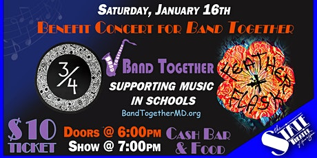 Benefit Concert for Band Together tickets