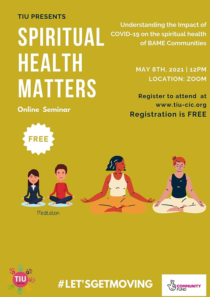 BAME health and well being workshops image