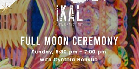 Full Moon Ceremony ~ Cacaotherapy Tulum tickets