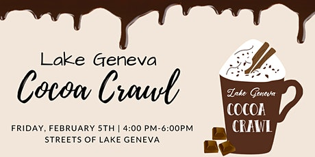 The Lake Geneva Cocoa Crawl tickets