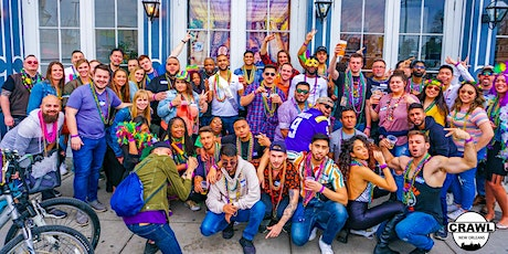 The Official Crawl of Mardi Gras 2021 tickets