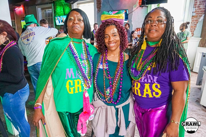 The Official Crawl of Mardi Gras 2022 image