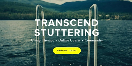 Adult Group Therapy Experience: Transcending Stuttering Accelerator tickets