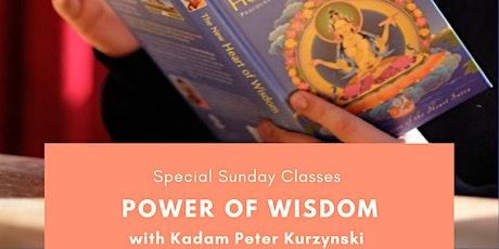 Online - Power of Wisdom tickets