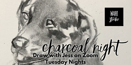 Drawing with Jess: Charcoal Night tickets