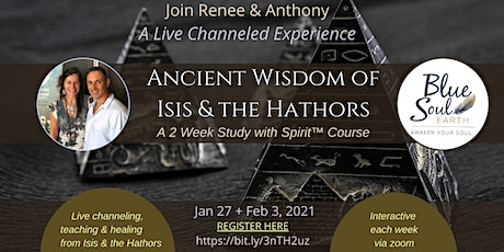 The Ancient Wisdom of Isis & the Hathors tickets