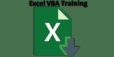 16 Hours Microsoft Excel VBA Training Course Burlington billets