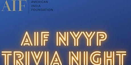 AIF NYYP Trivia Night tickets