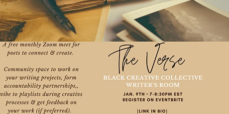The Verse: Black Creative Collective Writer's Room tickets