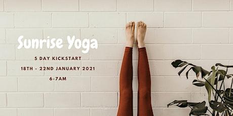 Sunrise Yoga - 5 Day Kickstart tickets