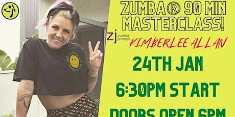 Zumba Masterclass with ZJ Kimberlee Allan tickets