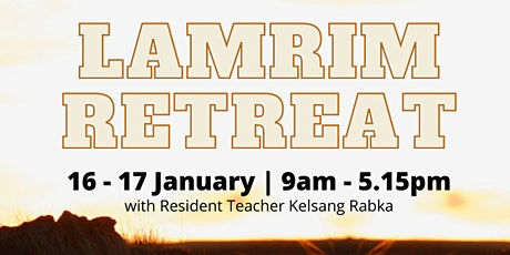 Lamrim Retreat Weekend tickets