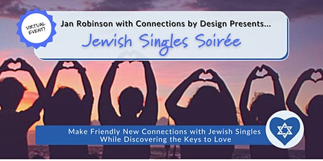 Jewish Singles Soirée | SF Bay Area and Beyond | Open Age Range tickets