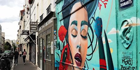 BALADE STREET-ART ET SPACE INVADERS - PARIS BUTTE AUX CAILLES (en famille) billets