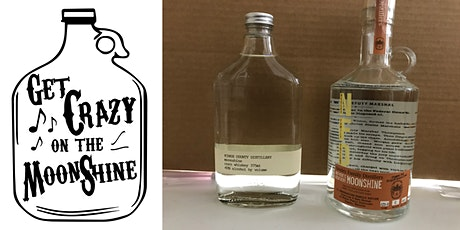 Get Crazy on the Moonshine - A Moonshine Tasting (4 Samples) tickets