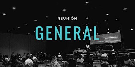 Reunión General | Domingo 10:00 AM entradas