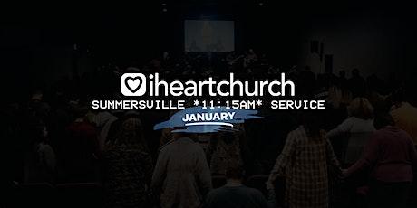 JANUARY: Summersville *11:15AM Service* tickets
