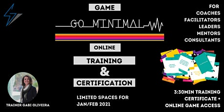 Certification Go Minimal Online - The game that make your projects happen tickets