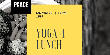 Yoga for Lunch tickets