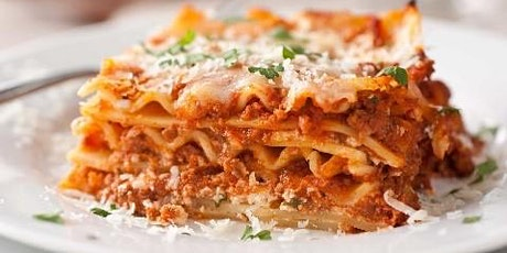 Club Italia Curbside Take Out Featuring Lasagna OR Eggplant Parmigiana tickets