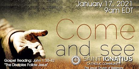 Sunday Mass - January 17, 2021 tickets
