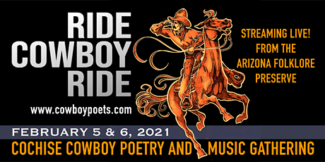 Cochise Cowboy Poetry & Music Gathering (Friday Night Table Seating) tickets