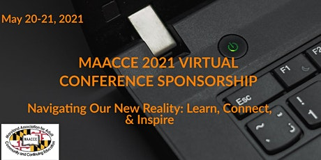 MAACCE 2021 Virtual Conference Sponsorship tickets