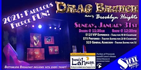 Drag Brunch 2021: Fabulous, Fierce Fun! tickets