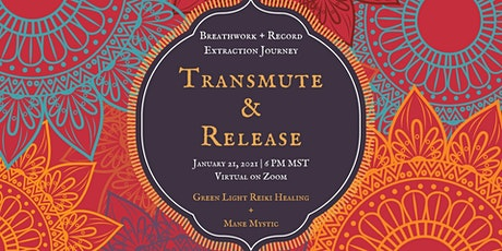 Transmute + Release: Breathwork and Record Extraction Journey tickets