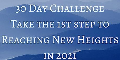 Reach New Heights 30-Day Challenge tickets