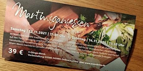 Martinsgansessen in der Windmühle Seifhennersdorf tickets
