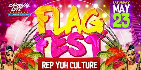 "FLAG FEST ' REP YUH CULTURE ""  ATLANTA CARNIVAL 2021 EDITION tickets"