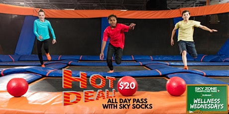 Wellness Wednesday : $20 All Day Jump Pass with Sky Socks tickets