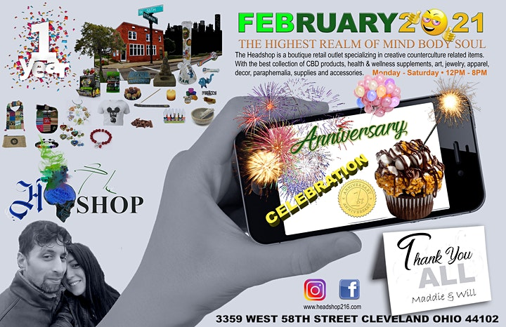 The Headshop One Year Anniversary image