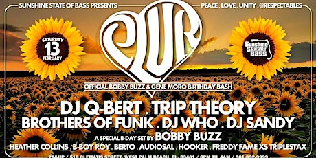 Sunshine State of Bass presents: PLUR w/QBert•Trip Theory • & more tickets