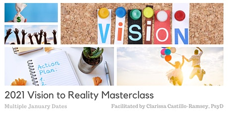 Create New Possibilities - 2021 Vision Board Masterclass tickets