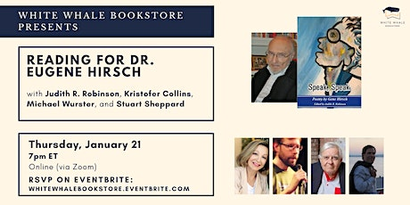 Reading for Dr. Gene Hirsch (with Robinson, Collins, Wurster, and Sheppard) tickets
